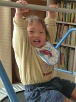 『生後8か月で読書、1歳4か月で逆上がりを!』(1歳7か月男の子)