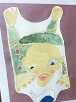 【New!】「市の小中学校美術展に入選しました」(小学1年生男の子)