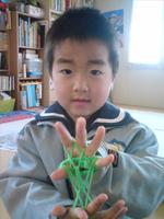 『「集中力と好奇心が育っているのでいいですね。」と担任の先生に褒められました!』 (5才4ヶ月男の子)
