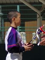 「走者一掃!逆転サヨナラ三塁打!!野球の公式戦でチーム優勝に貢献し最優秀選手賞を受賞しました」(小学5年生男の子)