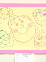 児童画コンクールで社長賞を受賞しました!(3歳男の子)