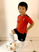 【New!】「幼稚園・フットサル・サッカーなどで運動神経を褒めてもらっています」(ベルギー在住 5歳男の子)